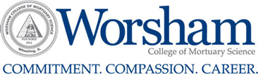 Worsham College of Mortuary Science logo