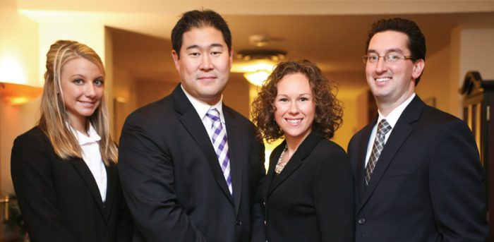 photo of Eugene Cha and associates | Worsham College of Mortuary Science | outside Chicago, Illinois