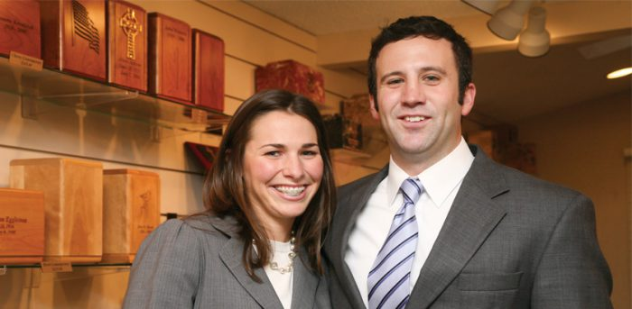 photo of Meredith Waterston and John Waterston | Worsham College of Mortuary Science