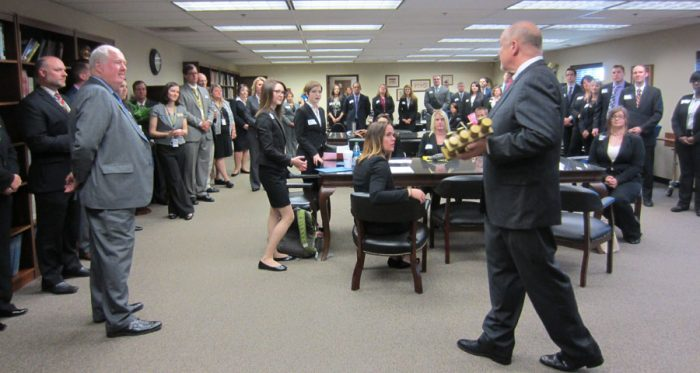 Guest lectures from prominent funeral directors in the country